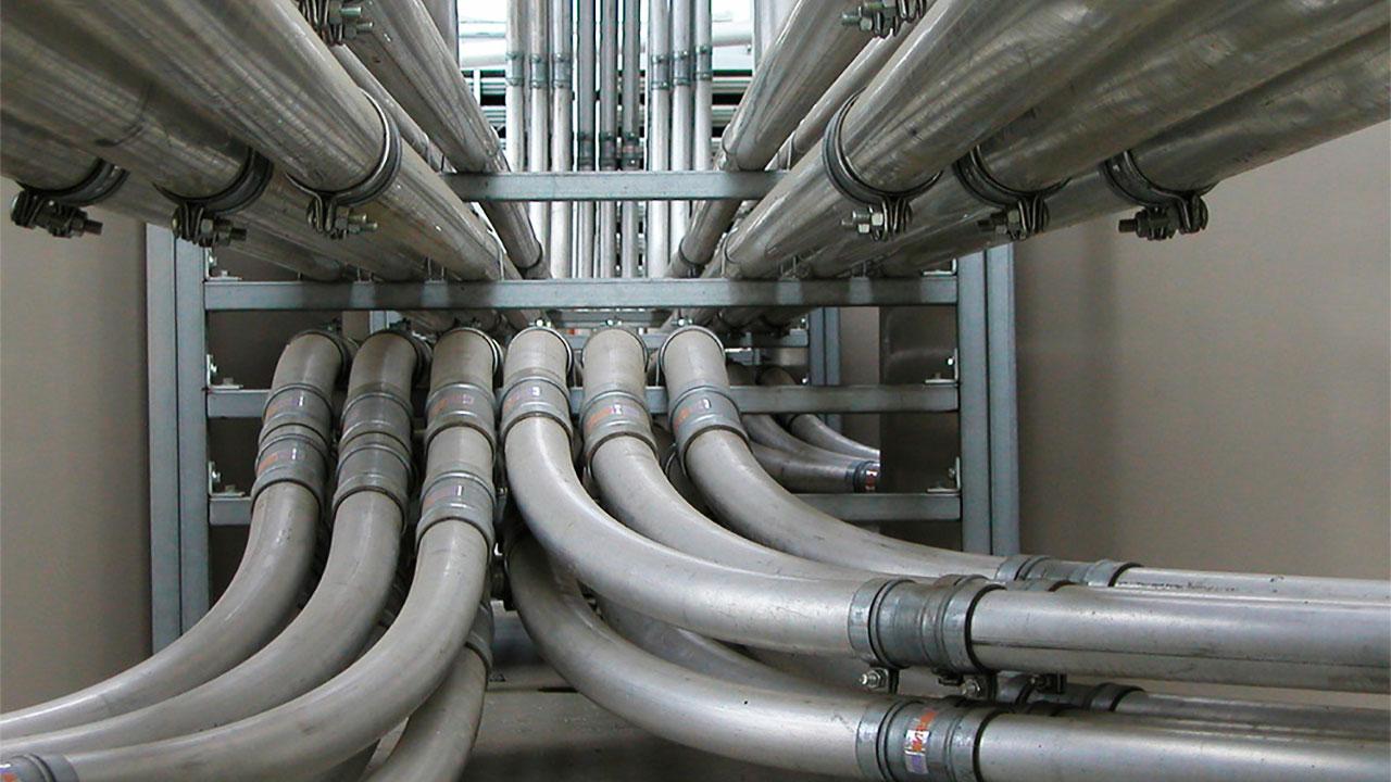 Трубопроводы систем пневмотранспорта