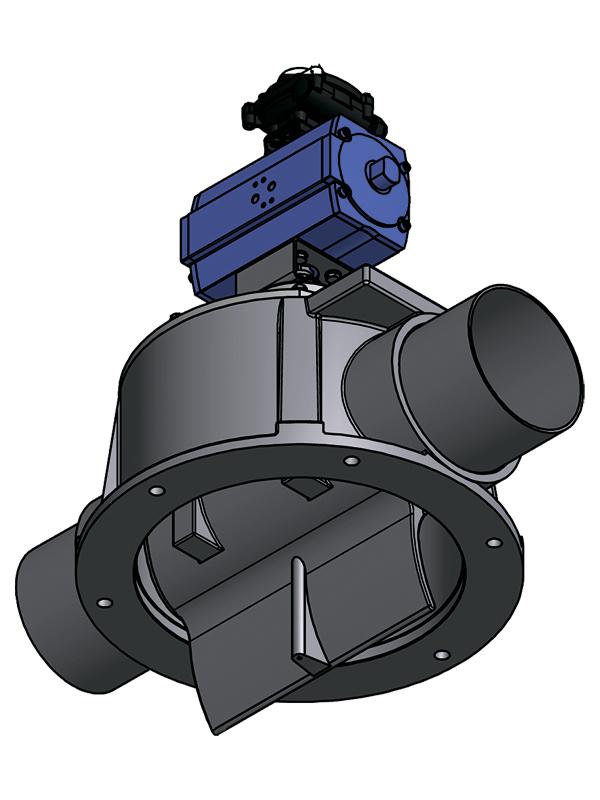 Весовой клапан SV-A - AIRLOCK